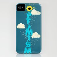 iPhone Cases featuring Yay for Optimism! by Jay Fleck