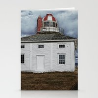 Lighthouse in Newfoundland, Canada Stationery Cards