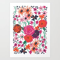 Blooming Love Art Print