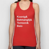 Helvetica Weekend  Unisex Tank Top