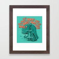 NOPETUPUS Framed Art Print