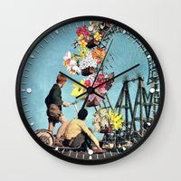 Bloomed Joyride Wall Clock
