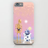 iPhone & iPod Case featuring The Droids by LOVEMI DESIGN