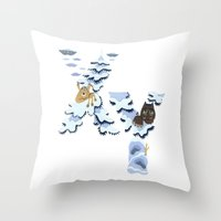 X & Y Throw Pillow