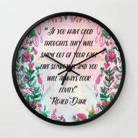 Roald Dahl Wall Clock