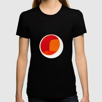 Pod Chair Womens Fitted Tee Black SMALL