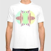 Falling In A Dream  Mens Fitted Tee White SMALL