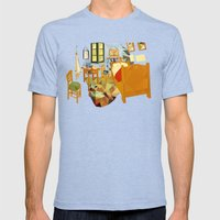Van Gogh Mens Fitted Tee Tri-Blue SMALL