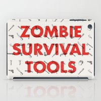Zombie Survival Tools - Pattern 'o tools iPad Case