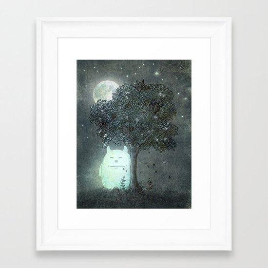Full Moon Spirit  Framed Art Print
