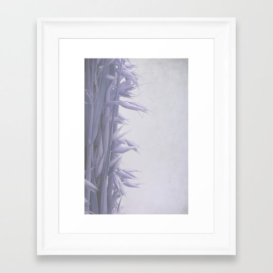 still life with oat Framed Art Print