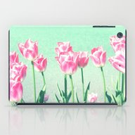 Pink Tulips iPad Case