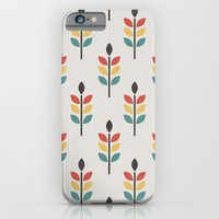 iPhone Cases featuring Leaf Pattern by Tracie Andrews