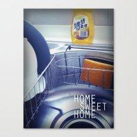 HOME SWEET HOME SERIES - Sink Canvas Print