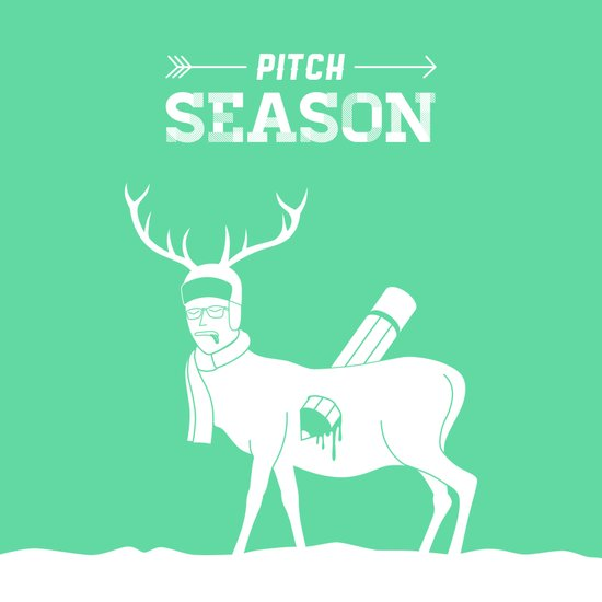 Pitch Season (Killed by work) Art Print