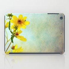 Yellow Flowers 1 iPad Case
