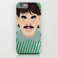 iPhone & iPod Case featuring Big Neville Southall, Everton and Wales Greatest goalkeeper by Joe Pugilist Design