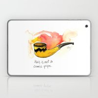This Is Not A Comic Pipe Laptop & iPad Skin