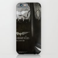 dark knight rises movie fan poster iPhone 6 Slim Case