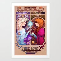 Let Me In - Quote Versio… Art Print