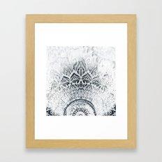 MINA MANDALA Framed Art Print