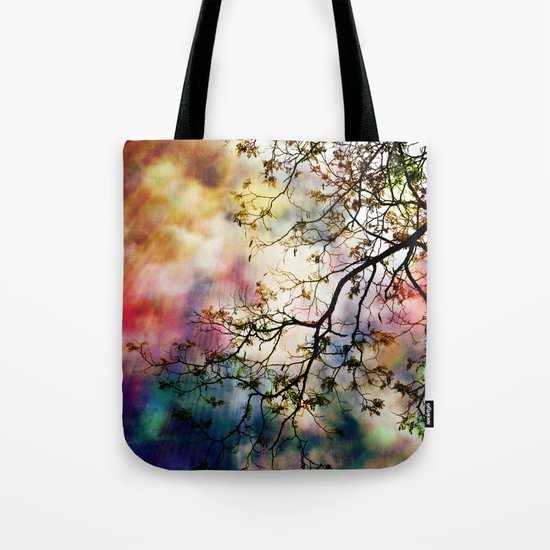 the Tree of Many Colors Tote Bag