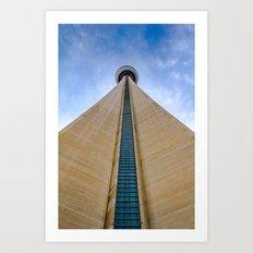 CN Tower up close Art Print