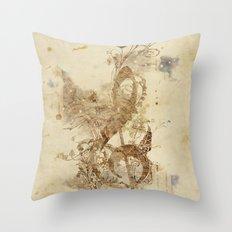 the golden key Throw Pillow