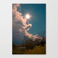A Country Path Canvas Print
