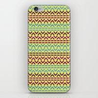 AZTEC Pattern 1-2 iPhone & iPod Skin