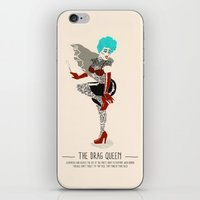 The Drag Queen - A Poster Guide to Gay Stereotypes iPhone & iPod Skin