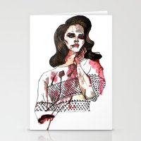 Bloody Lana  Stationery Cards