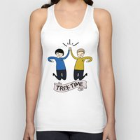 Trek Time Unisex Tank Top