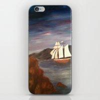 Sailing at Dusk iPhone & iPod Skin