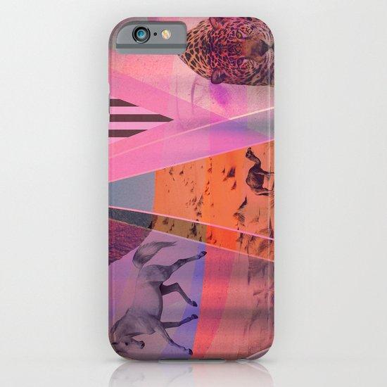 DISTORTED BOUNDARIES iPhone & iPod Case