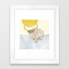 Yak Framed Art Print