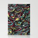 saps pattern - by Tori  Stationery Cards