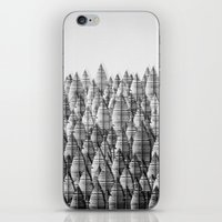 federwald (monochrome series) iPhone & iPod Skin