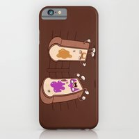 iPhone & iPod Case featuring PB vs J by jublin