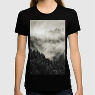In My Other World // Old… Womens Fitted Tee Black SMALL