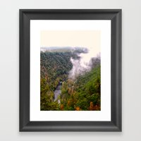 Pine Creek Gorge Framed Art Print