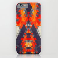 iPhone & iPod Case featuring Abstract Triangle Mountain by Rain Carnival