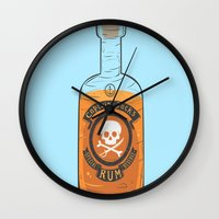 Captain Jack's Special Rum Reserve Wall Clock