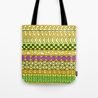 Yzor Pattern 011 Yellow … Tote Bag