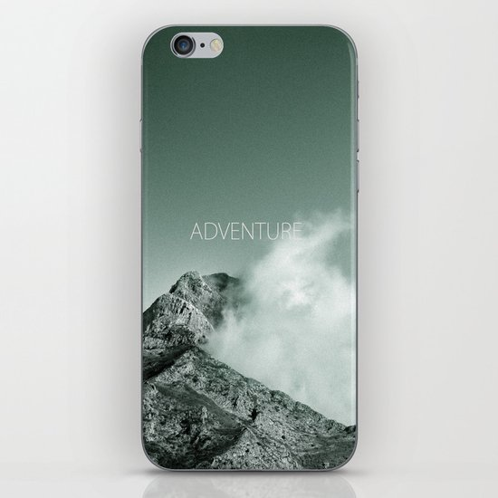 """""""Adventure at the mountain"""" iPhone & iPod Skin"""
