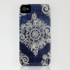 Cream Floral Moroccan Pa… iPhone (4, 4s) Slim Case