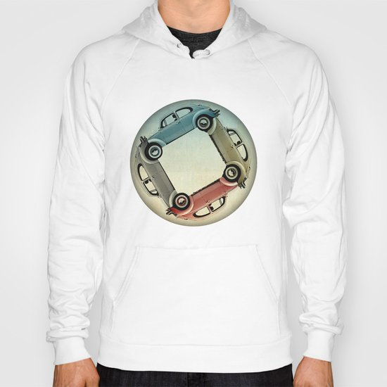4 more bugs _ VW beetle Hoody
