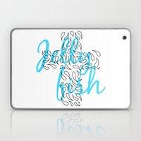 Jellyfish Cross Laptop & iPad Skin