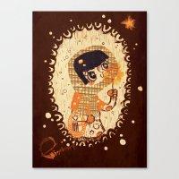 The Little Match Girl Canvas Print