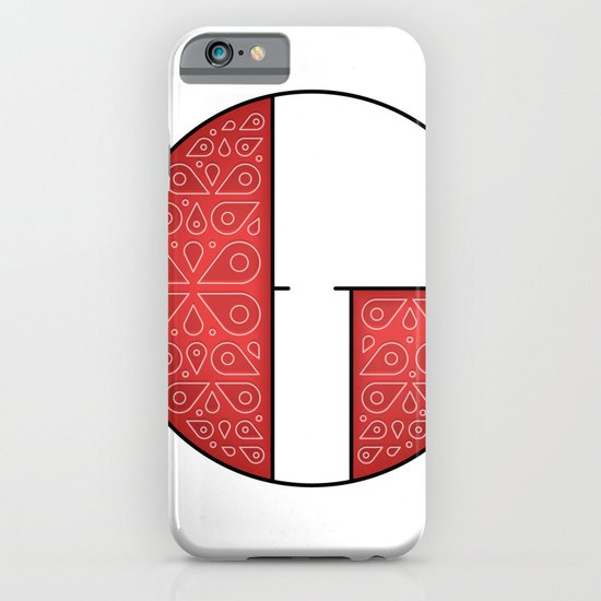 The Letter G iPhone & iPod Case